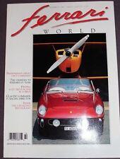Ferrari World Magazine issue N.14 features 250 GT Cabrio - 250 TR - More
