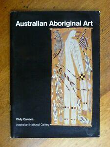 Australian Aboriginal Art - Wally Caruana (Paperback, 1987) National Gallery