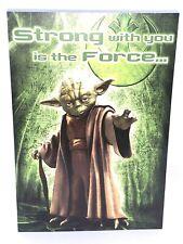HallMark Yoda Birthday Card