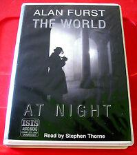 Alan Furst The World At Night 8-Tape UNABR.Audio Stephen Thorne War/Historical