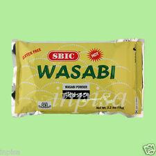 S&B WASABI POWDER 2 Bags x 2.2 lbs JAPANESE HORSERADISH KOSHER CALGARY CANADA