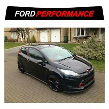 Ford Fiesta ST sunstrip for a gen6 2008 onwards - pre cut, no trimming required!