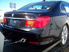 09-2015 BMW 750LI 750I F01 F02 Rear Clip End CUT Trunk lights Quarter Panels