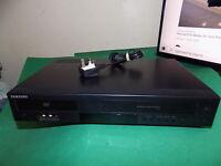 SAMSUNG DVD Player / Video Recorder VHS Combo DVD-V6800 Black Dual Deck FAULTY