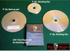 SHRINKING DISC COMBO: use with English wheel planishing hammer, metalshaping