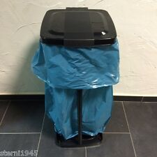 Müllsackständer, Werkstoffständer 34 X 31 X 71 CM Schwarz für 120L Säcke Neuware