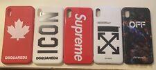 Cover case Apple iPhone xs max dsquared off white supreme