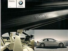BMW 3-Series Coupe E92 Individual Colour & Trim 2008 UK Market Foldout Brochure