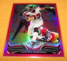 STEVEN JACKSON - 2013 Topps Chrome BCA Pink Refractor SP /399 - Atlanta Falcons