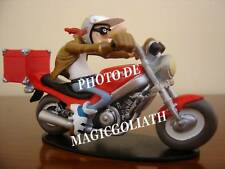 Figurine Joe Bar Team moto HONDA 650 NTV livreur livraison resin motor figure bd