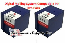Digital Mailing System 765-9 Pitney Bowes Red Postage Ink 2pk/Two pack