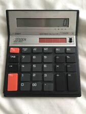 Calculadora De Escritorio ciudadano SCD 850 Batería