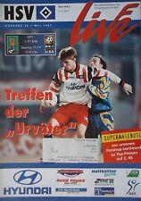 Programm 1996/97 HSV Hamburger SV - 1. FC Köln