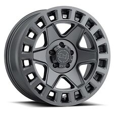 17 inch 17x8 Black Rhino York Gunmetal wheel rim 5x4.5 5x114.3 +35