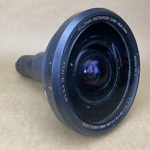 Kollsman EFL 0.4 IN F2.2 U.S. Navy Wide Angle Lens Device 3-A-360