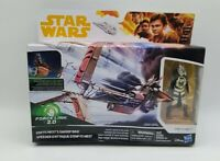 Star Wars Force Link Enfys Nest w/ Swoop Bike Figure Set Disney Hasbro 2017