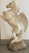 Windstone Editions Pegasus Rearing White 10 1/2� Tall Pena 1991