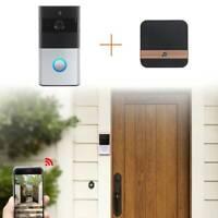 720P Smart Video Doorbell Camera Wireless WiFi Security Phone Bell Intercom HD