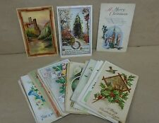 Group Of 49 Postcards Birthday Easter New Year Christmas Used & Unused Pre 1920
