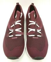 New Balance Burgundy Athletic Sport Lace Up Running Shoes Men's 9.5 D