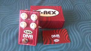T Rex Diva Drive Distortion Effect Pedal -->Highly versatile<--