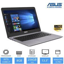 """Asus ZenBook ux310ua 13.3"""" Portátil Empresarial Intel Core i7,8gb RAM,256gb SSD"""