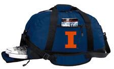 University of Illinois Gym Bag or Travel Duffel Separate Shoe Pocket!