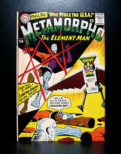 COMICS: DC: Metamorpho #3 (1965) - RARE (batman/flash/wonder woman)