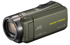 JVC GZ-R435 4 GB Camcorder - Camouflage Green