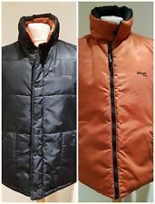 NEW Schott Reversible Black/Orange Gilet Bodywarmer Size 44/66 Chest