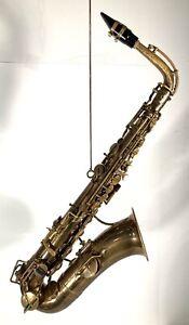 1924 Buffet Evette-Schaeffer 18&20 Carl Fischer Saxophone Made in Paris France