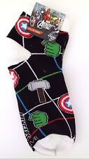Marvel Avengers Assemble Boy's Youth Kids Superhero Socks ONE SIZE FITS MOST NWT