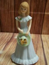New Listing1982 Enesco Growing Up Birthday Girls Age 14 Porcelain Figurine