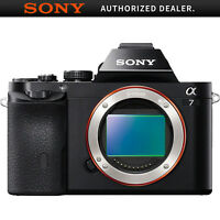 Sony a7 Full-Frame Interchangeable Lens Black Digital Camera