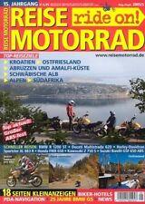 RM0505 + BMW R 1200 ST im Vergleich +Fahrbericht BMW HP2 + REISE MOTORRAD 5 2005