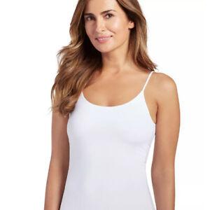 Jockey Women's  Luxuriously Smooth Camisole, White, Large