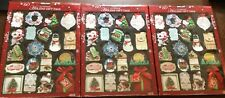 Lot of 3 Kirkland Signature Handmade Holiday Gift Tags, 180 count