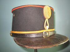 named orig ca WW1 Dutch KNIL shako kepi cap Hat mutze kradchen helmet Indonesia
