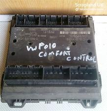 VW Polo Comfort Control Fuse Box