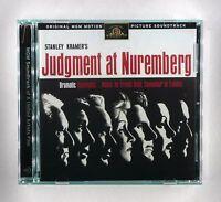 Judgment at Nuremberg - Film Soundtrack by Ernest Gold - CD Album - RCD 10723