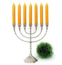 Davidleuchter Menora Judaica Menorah Antik Kerzenleuchter Kerzenständer Silber