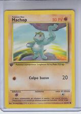 MACHOP Pokemon1st Edition Card #52/102 ITALIAN Base Set   (  MINT  )