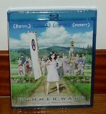 SUMMER WARS-SAMA WOZU-BLU-RAY-NUEVO-PRECINTADO-NEW-SEALED-ANIMACION MANGA