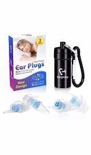 Ear Plugs For Sleeping Eargrace 2 Pairs Oval Shape Noise Reduction Ear Plugs Ul