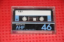 USED TAPES!!     SONY  AHF  46   VS. II  BLANK CASSETTE TAPE (1) (USED)
