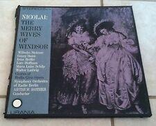 Nicolai: The Merry Wives of Windsor Chorus of Berlin Civic Opera Symphony