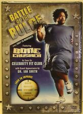 NEW Battle of The Bulge workout exercise Fitness For Obese People Chair Bed DVD