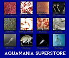 Live Fish Food Tropical ,Marine Bloodworm Daphnia Tubifex Brine Shrimp Copepods