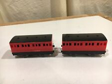 Hit Toy Two Red Express Coaches for Thomas and Friends Trackmaster