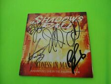 Shadows Fall - Madness in Manila Live 2009 Signed Autographed CD Booklet
